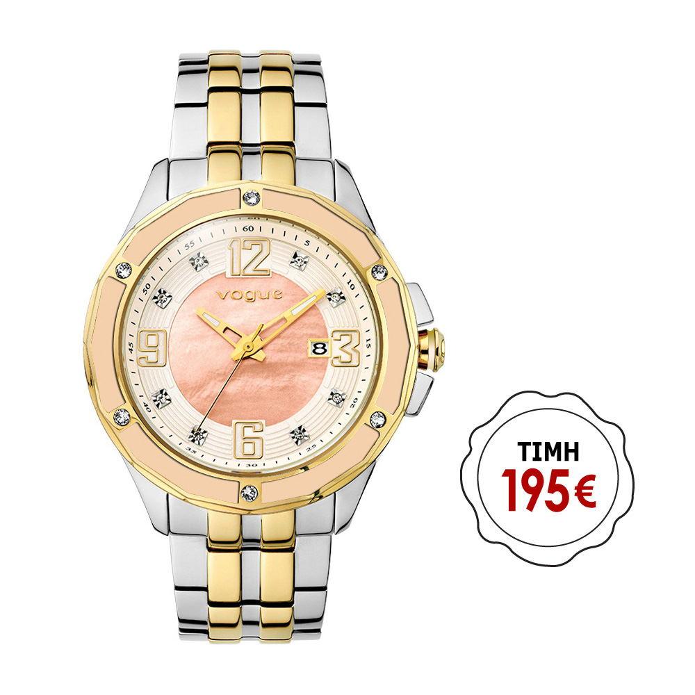 Ρολόι γυναικείο Vogue συλλογή Day   Night με μπρασελέ 77021.2 e06ca37ed18