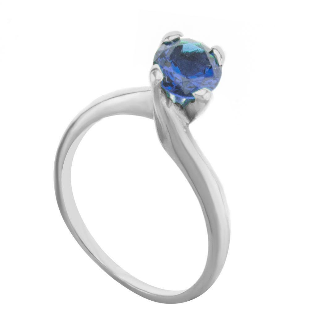 Μονόπετρο δαχτυλίδι από ασήμι με πέτρα ζιργκόν από ασήμι 874b4813f8a