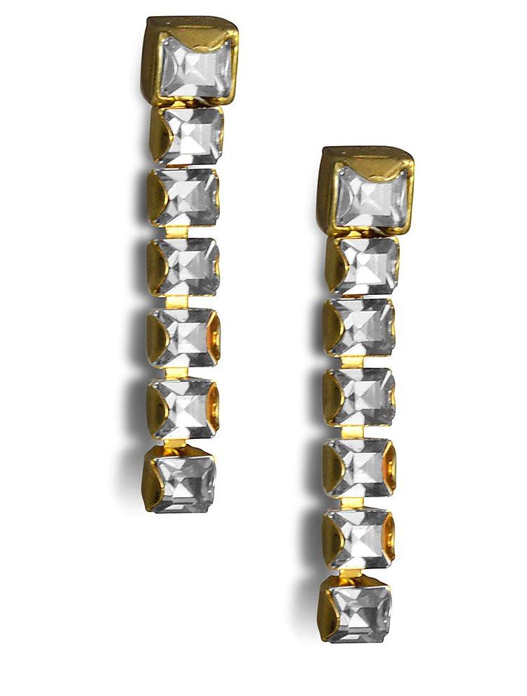 Σκουλαρίκια ασημένια 925 με πέτρες Swarovski