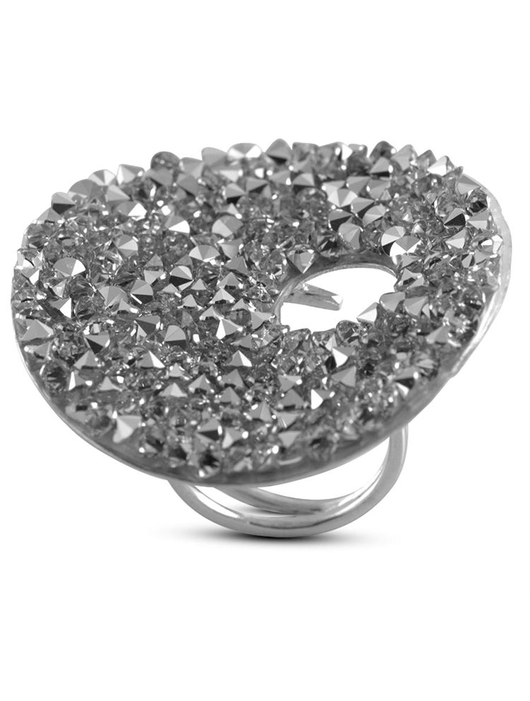 Δαχτυλίδι από ασήμι 925 και πέτρες Swarovski