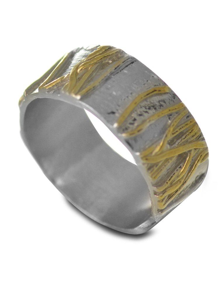 Χειροποίητο δαχτυλίδι από ασήμι 925