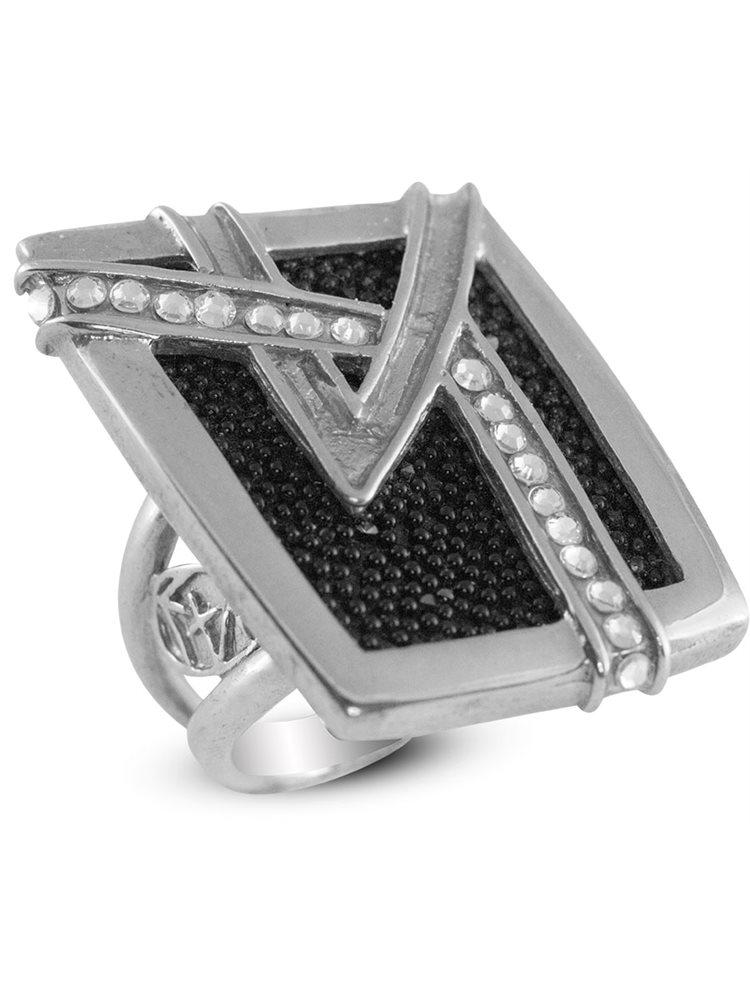 Ασημένιο Δαχτυλίδι με πέτρες Swarovski