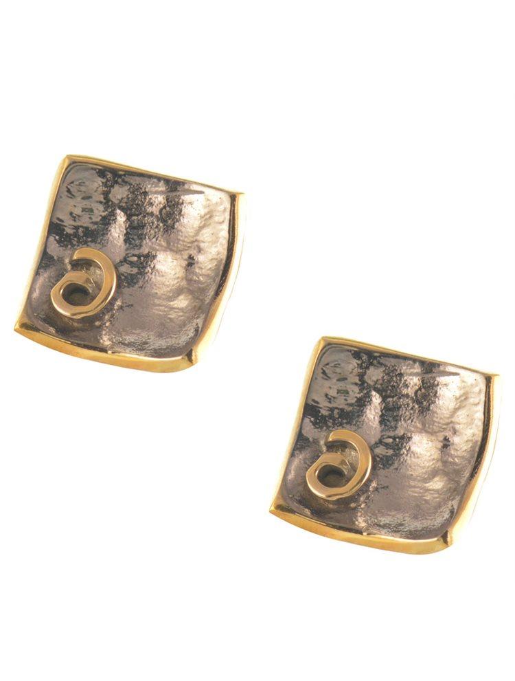 Χειροποίητο ζευγάρι σκουλαρίκια από ασήμι
