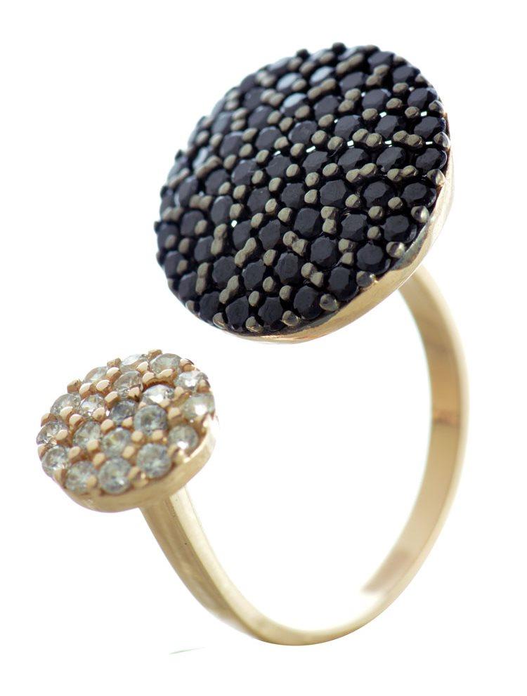 Paraxenies Δαχτυλιδι με κυκλους απο ροζ επιχρυσωμενο με πετρες ζιργκον 4287ec9c715