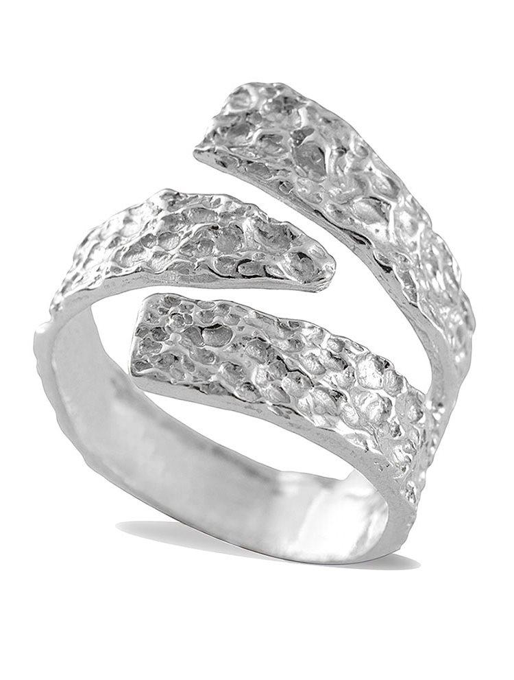 Χειροποίητο δαχτυλίδι ασημένιο 925
