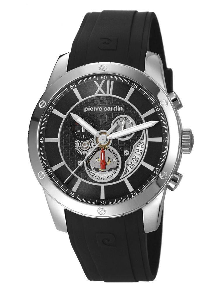 Ρολόι Pierre Cardin με δερμάτινο λουράκι