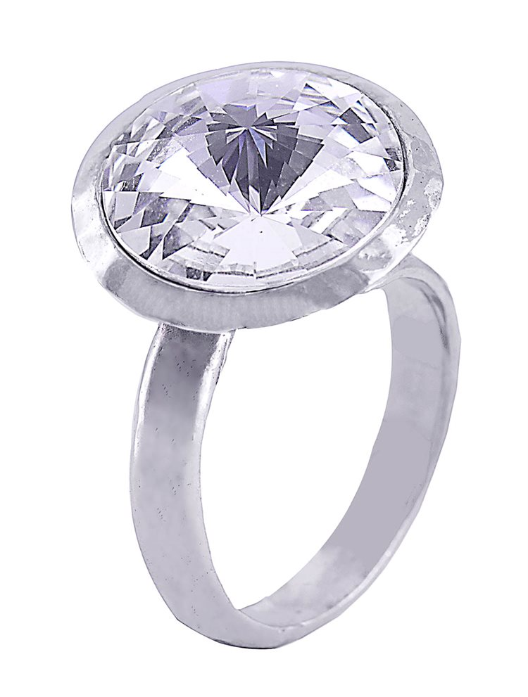 Δαχτυλίδι ασημένιο 925 με πέτρα Swarovski  213015e524b