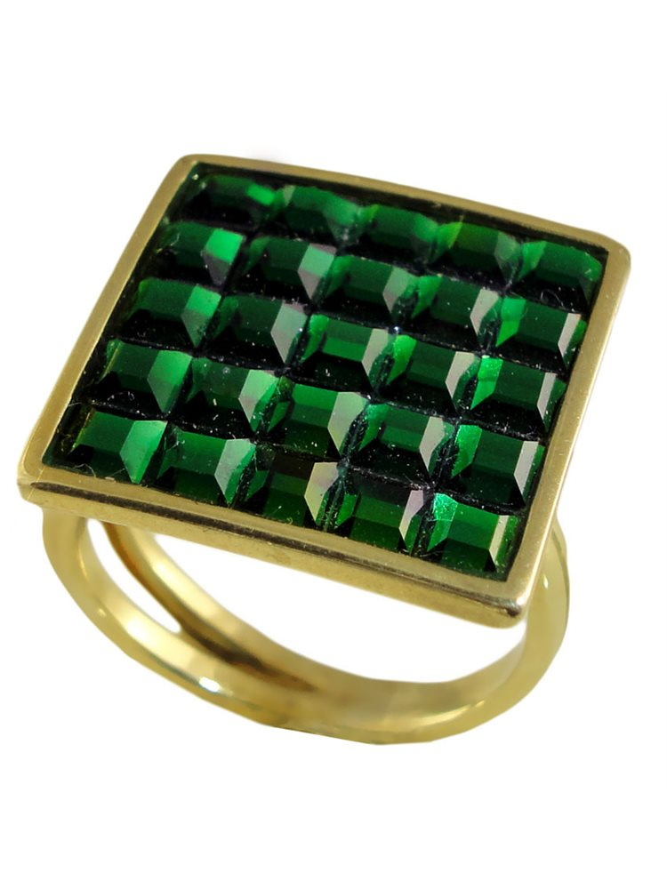 Δαχτυλίδι ασημένιο με πέτρες Swarovski