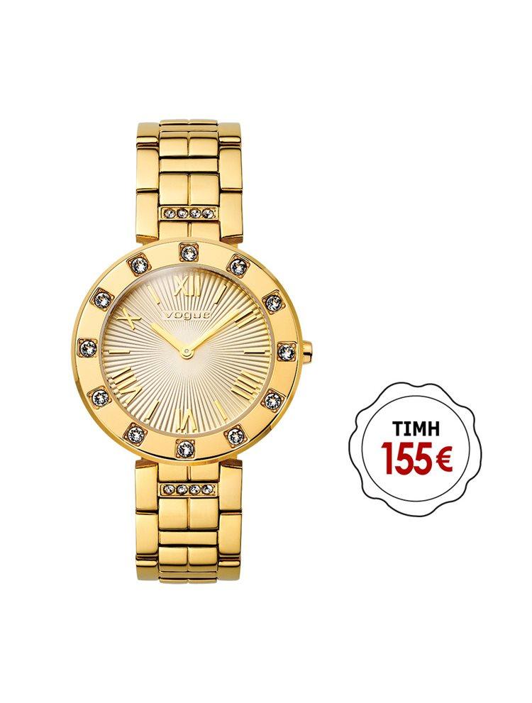 VOGUE Stones Gold Stainless Steel Bracelet 81059.2