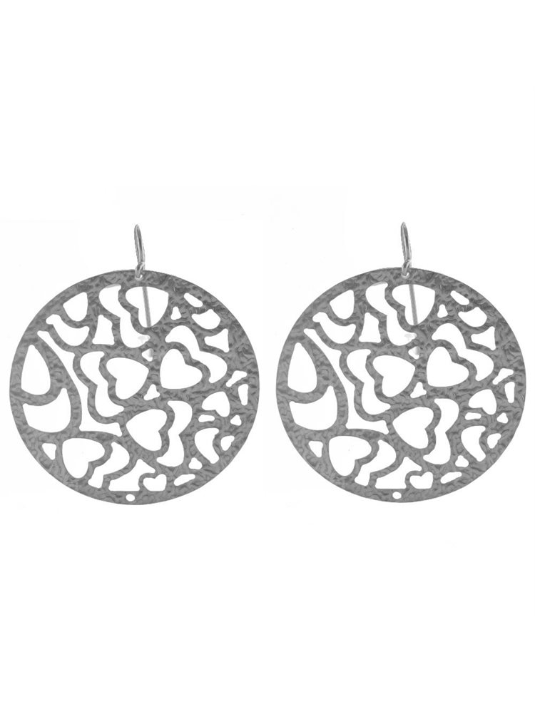 Εντυπωσιακά χειροποίητα σκουλαρίκια από ασήμι