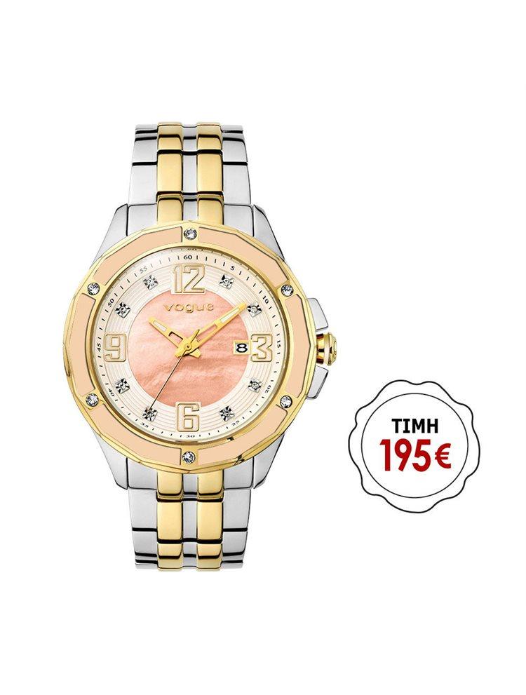 Ρολόι γυναικείο Vogue συλλογή Day & Night με μπρασελέ 77021.2