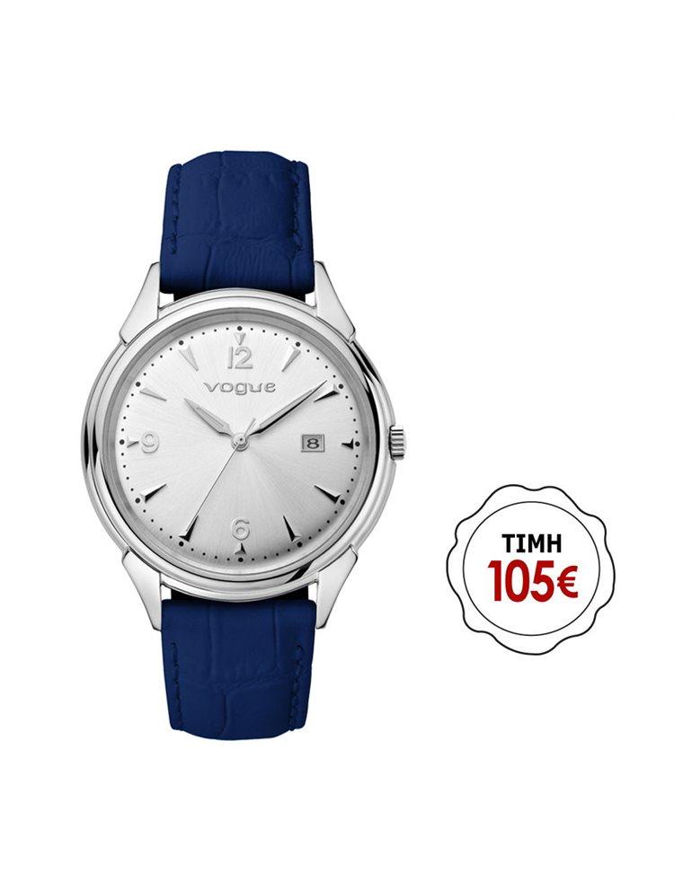 Γυναικείο ρολόι Vogue συλλογή Back to 50's με δερμάτινο λουράκι 70301.1b
