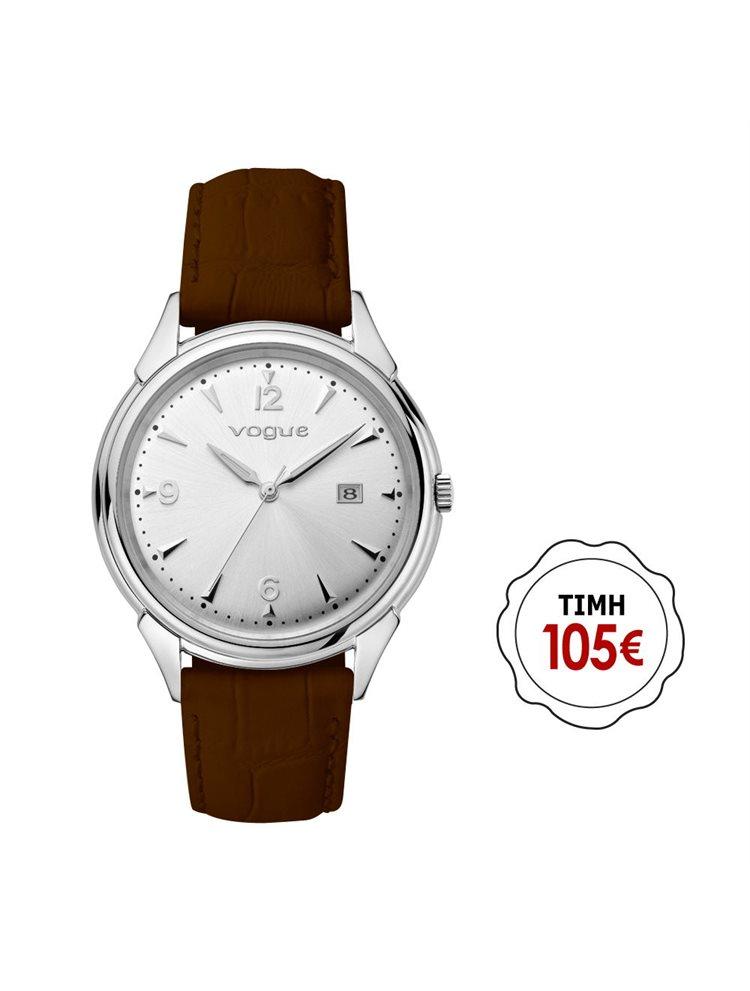 Γυναικείο ρολόι Vogue συλλογή Back to 50's με δερμάτινο λουράκι 70301.1c