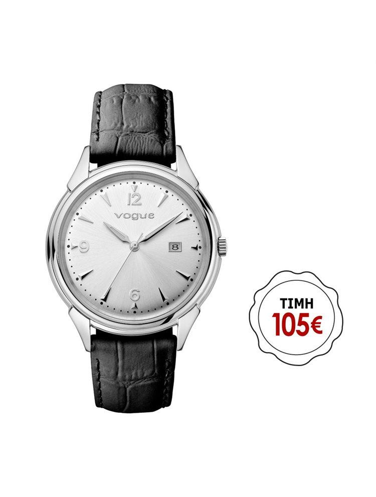 Γυναικείο ρολόι Vogue συλλογή Back to 50's με δερμάτινο λουράκι 70301.1d