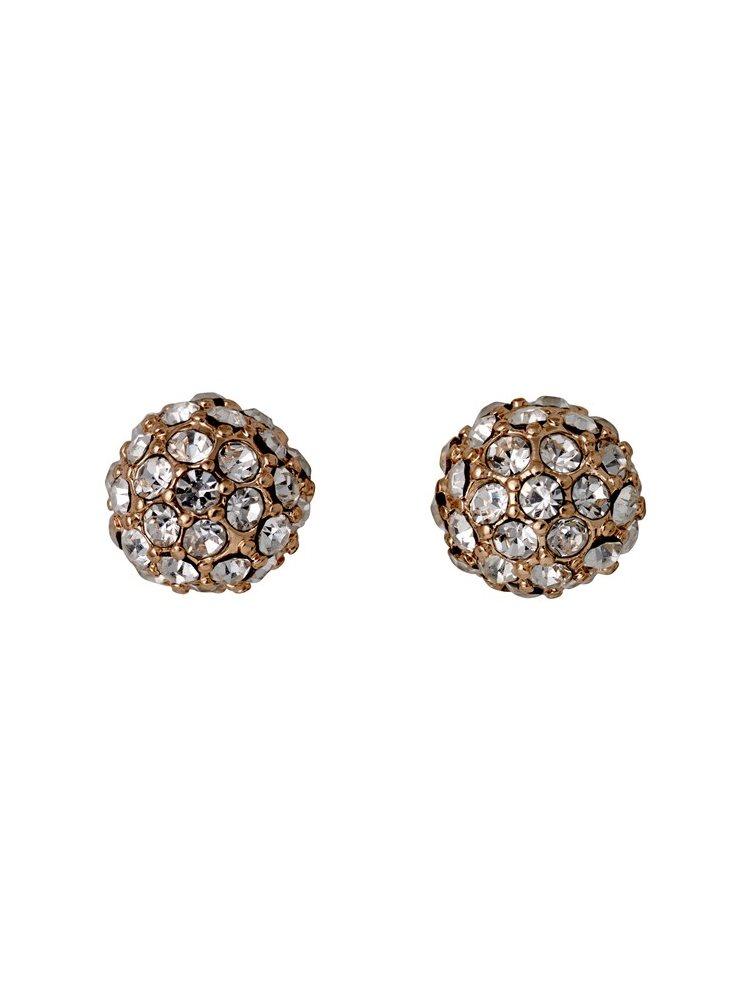 Διακριτικά σκουλαρίκια PILGRIM από ορείχαλκο 621714063