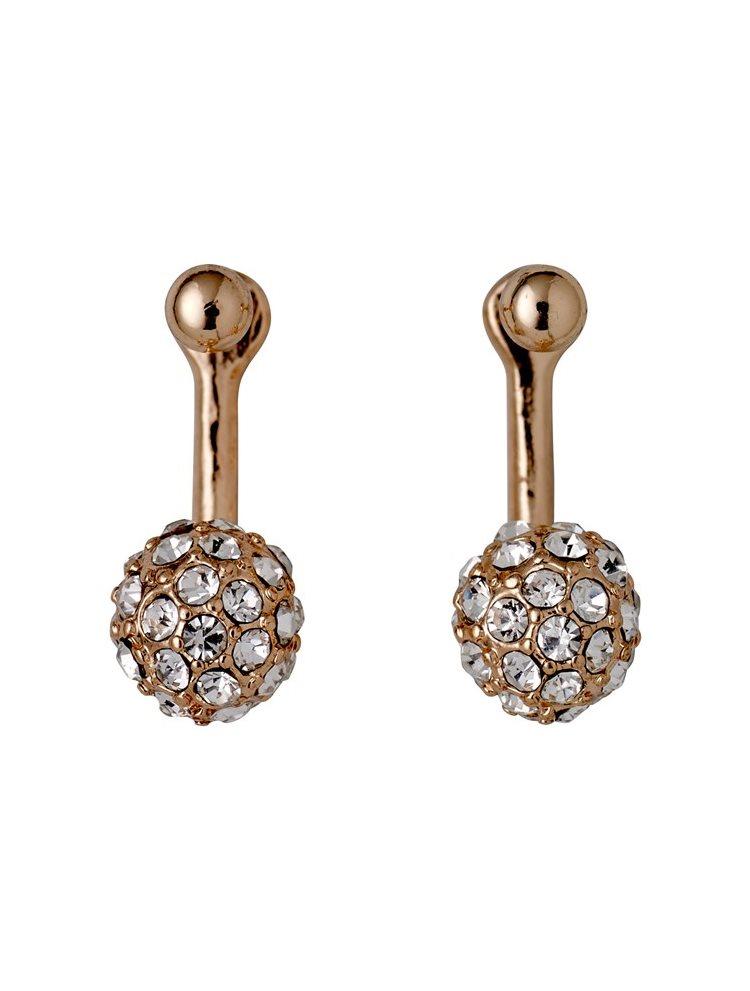 Διακριτικά σκουλαρίκια PILGRIM από ορείχαλκο 621714073