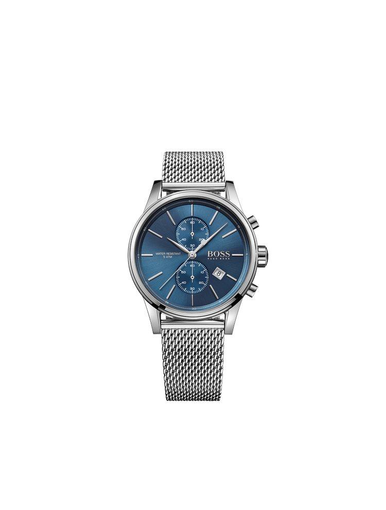 Hugo Boss Black Classic Chronograph Mesh Stainless Steel Bracelet 1513441