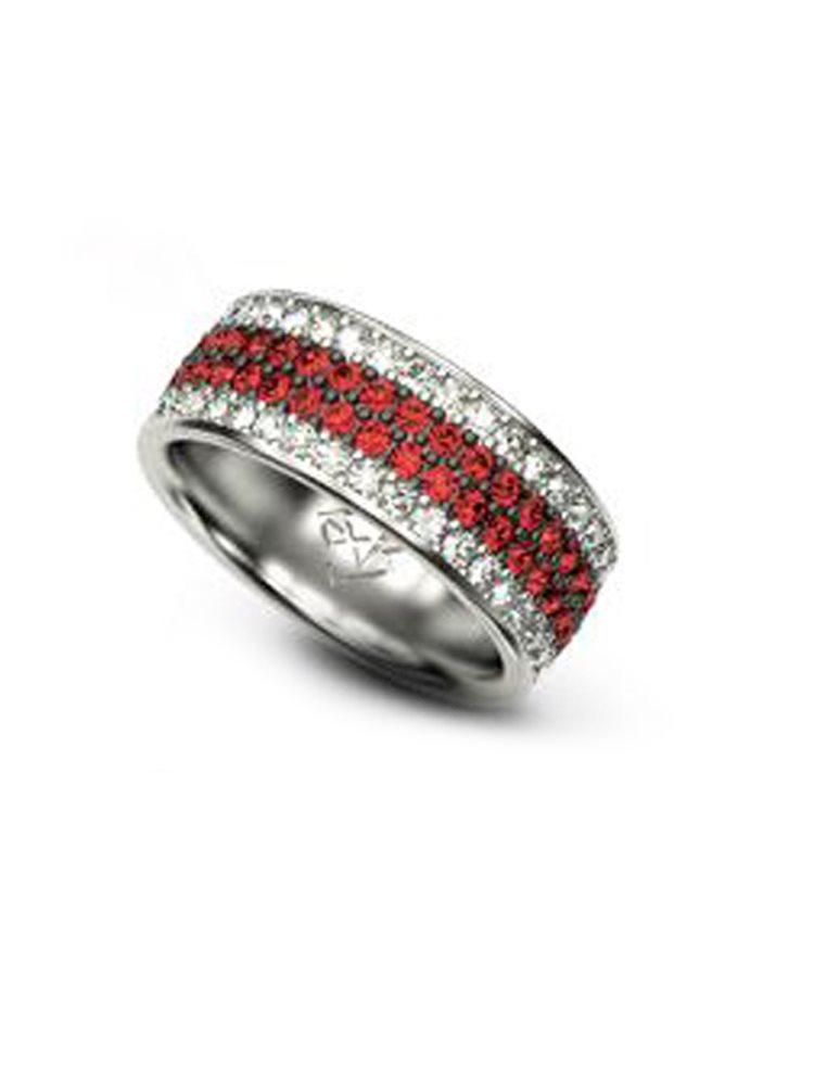 Βεράκι με πέτρες Swarovski collection Elegance από ασήμι