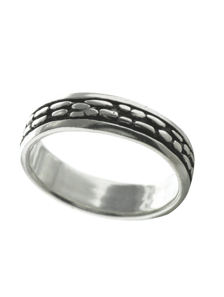Ανδρικό δαχτυλίδι από ασήμι