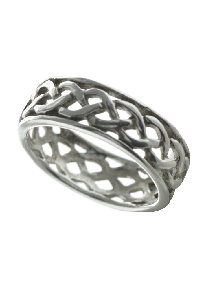 Δαχτυλίδι πλεκτό από ασήμι