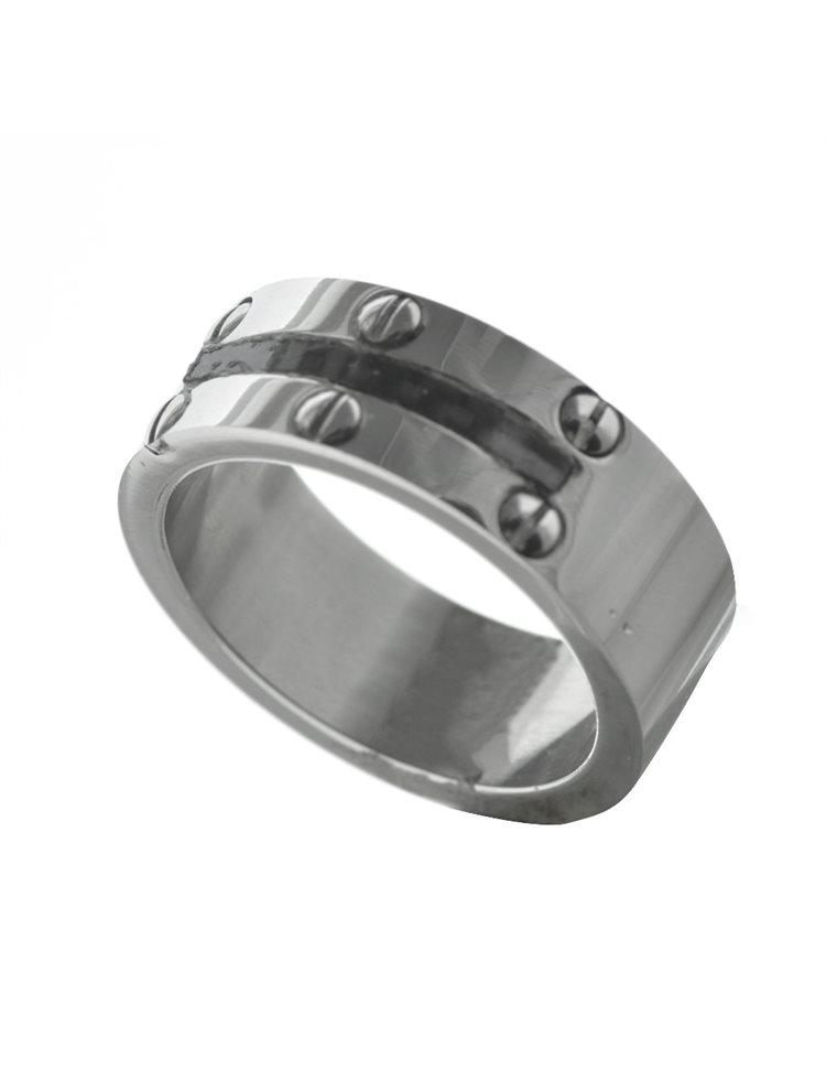 Ανδρικό δαχτυλίδι από ανοξείδωτο ατσάλι
