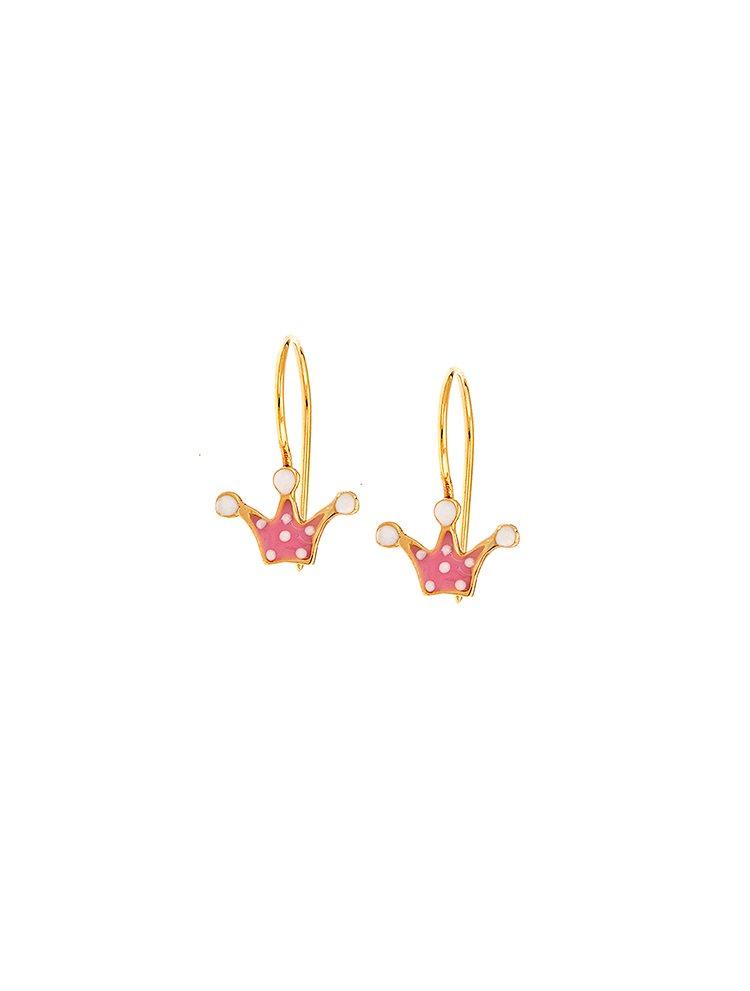 51af02ae1b7 Παιδικό μοντέρνο ζευγάρι σκουλαρίκια από χρυσό Κ9