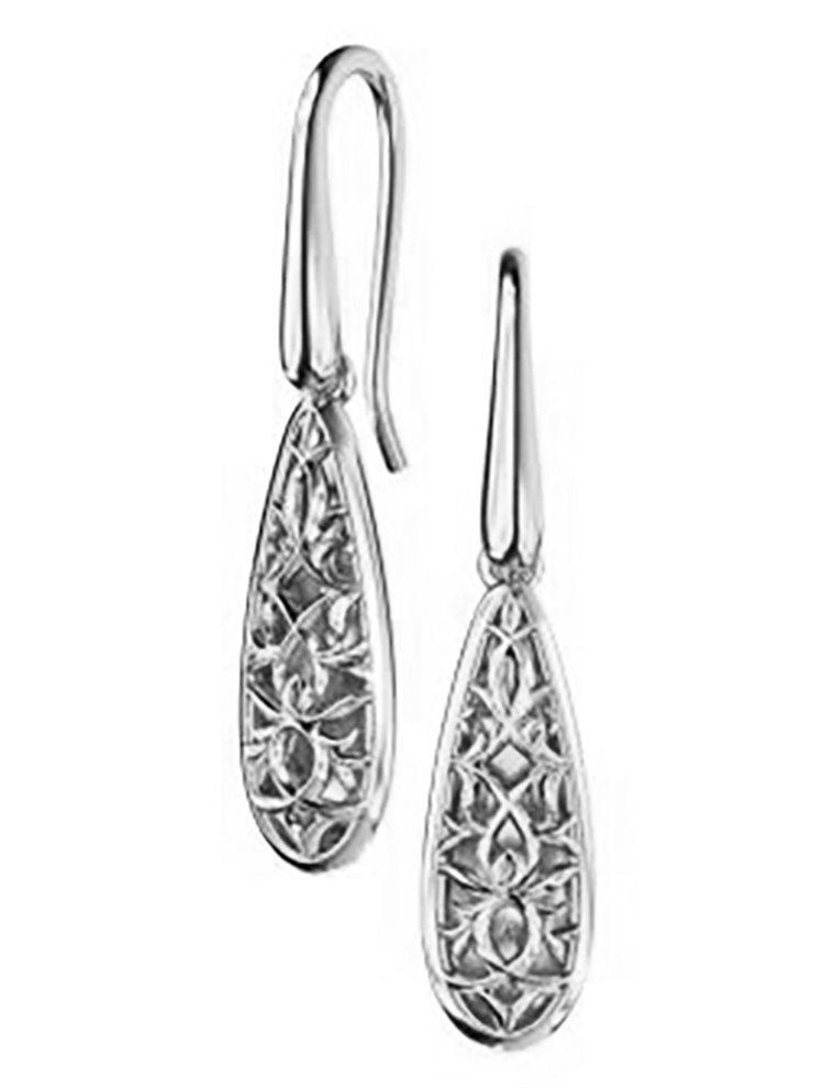 Εντυπωσιακά σκουλαρίκια από ασήμι συλλογή raindrops