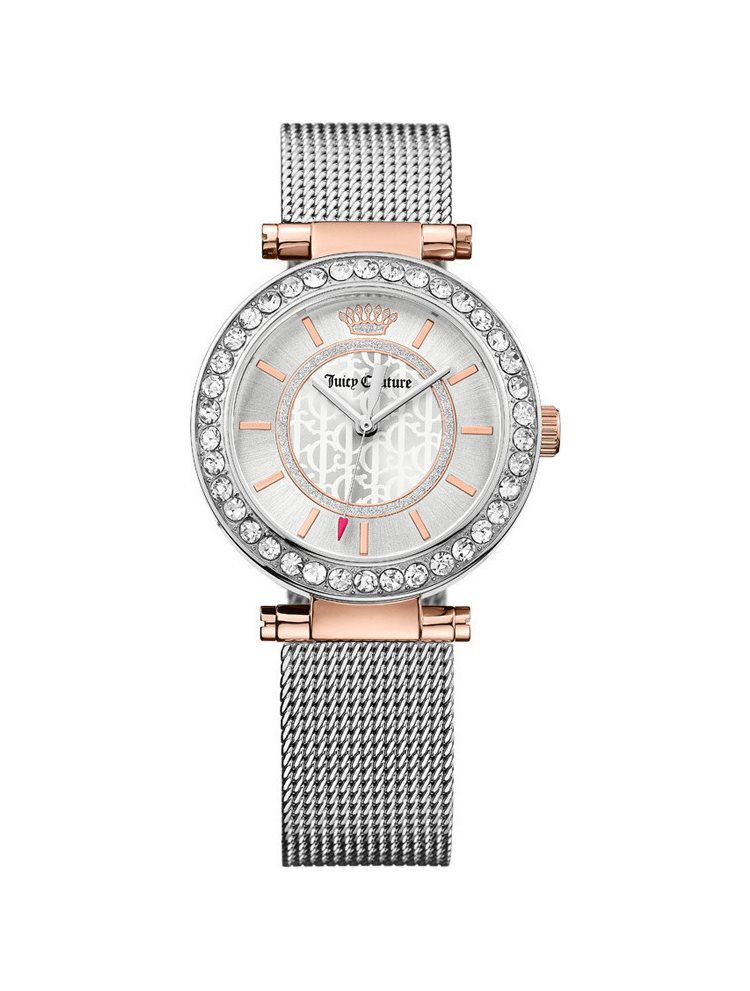 Ρολόι Γυναικείο Juicy COUTURE Crystal Stainless Steel Bracelet 1901375