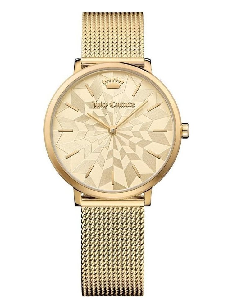 Ρολόι Γυναικείο Juicy COUTURE LA Ultra Slim Gold Stainless Steel Bracelet 1901586