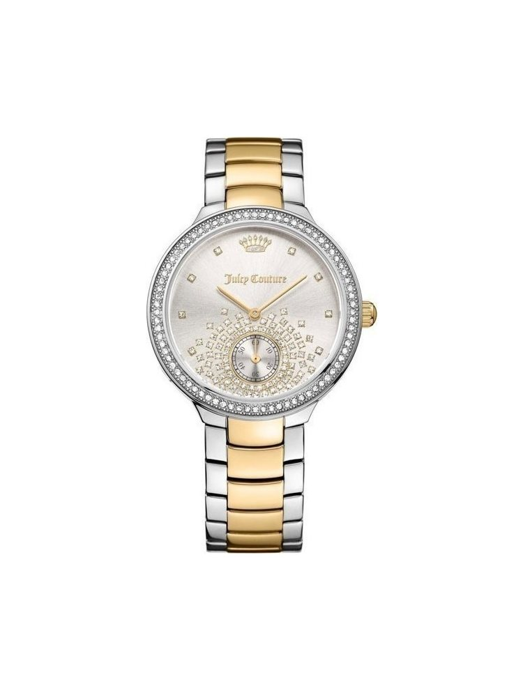 Ρολόι Γυναικείο Juicy COUTURE Catalina Crystals Two Tone Stainless Steel Bracelet 1901631