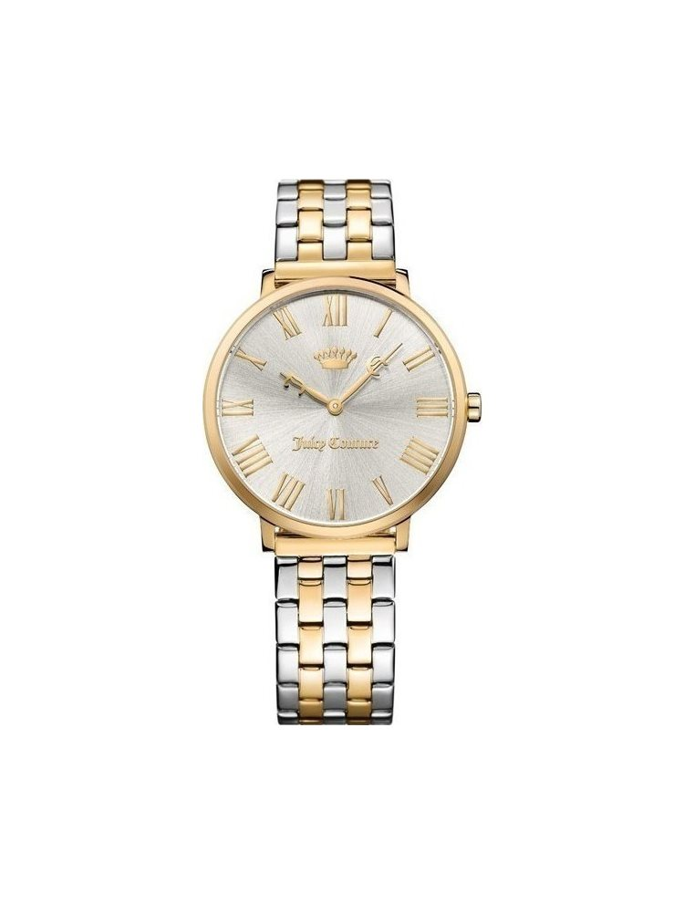 Ρολόι Γυναικείο Juicy COUTURE Juicy COUTURE LA Ultra Slim Two Tone Stainless Steel Bracelet 1901635
