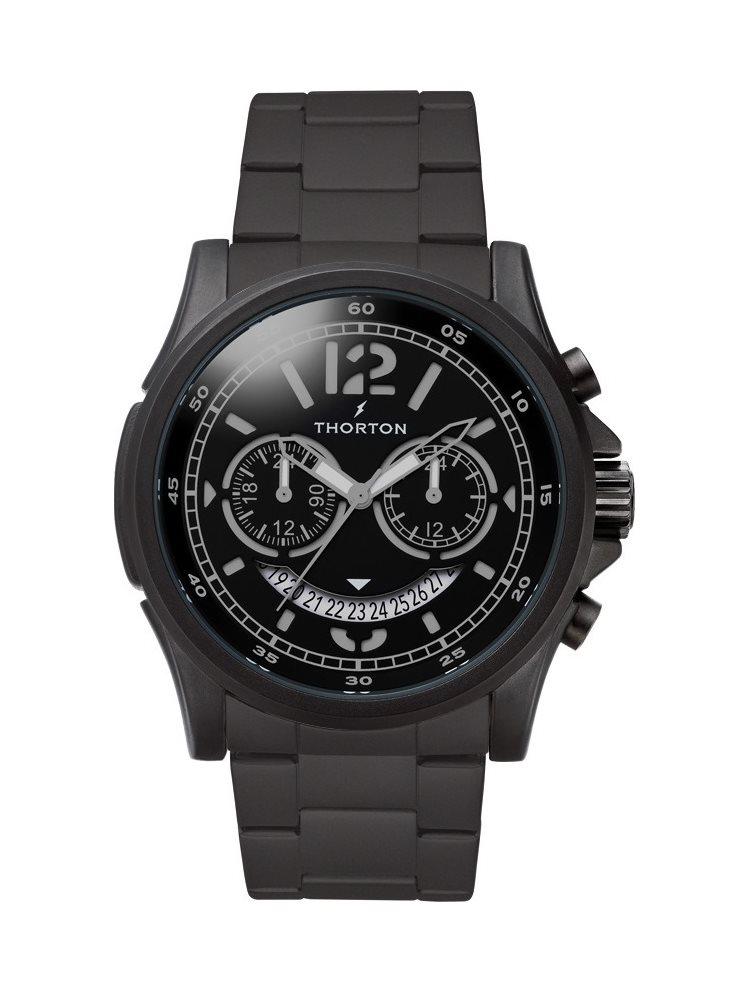 Ρολόι Ανδρικό THORTON Ivar Black Stainless Steel Bracelet 9007112