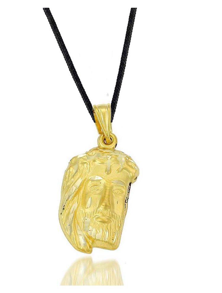 Ανδρικό κολιέ με τον Χριστό σε χρυσό 9 καρατίων