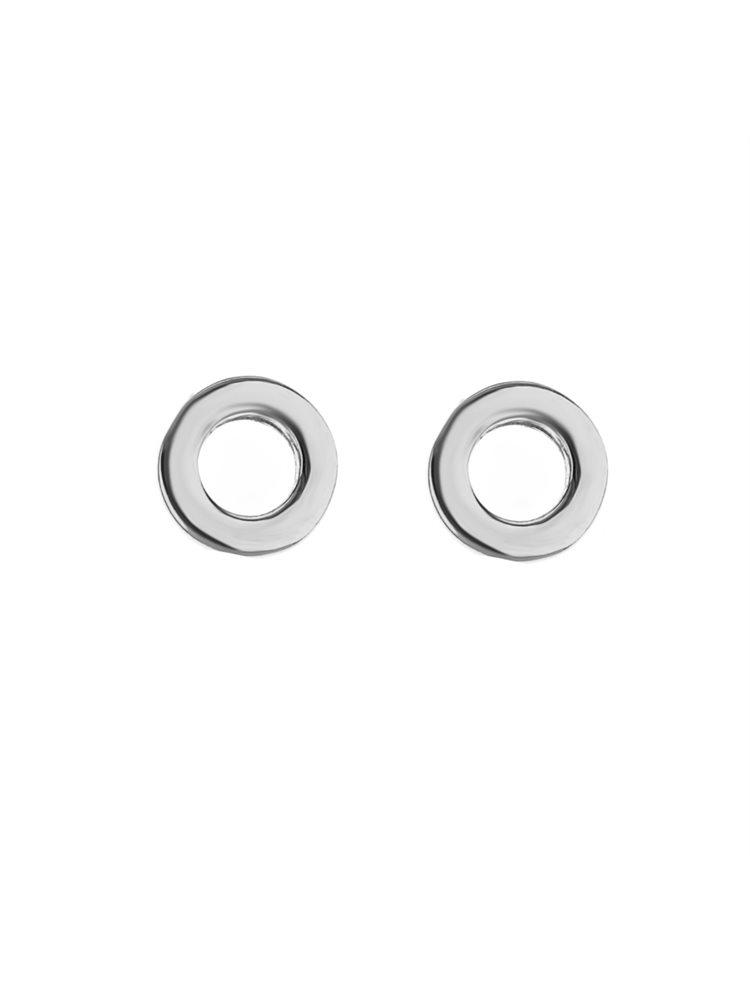 Σκουλαρίκια κύκλοι ασήμι