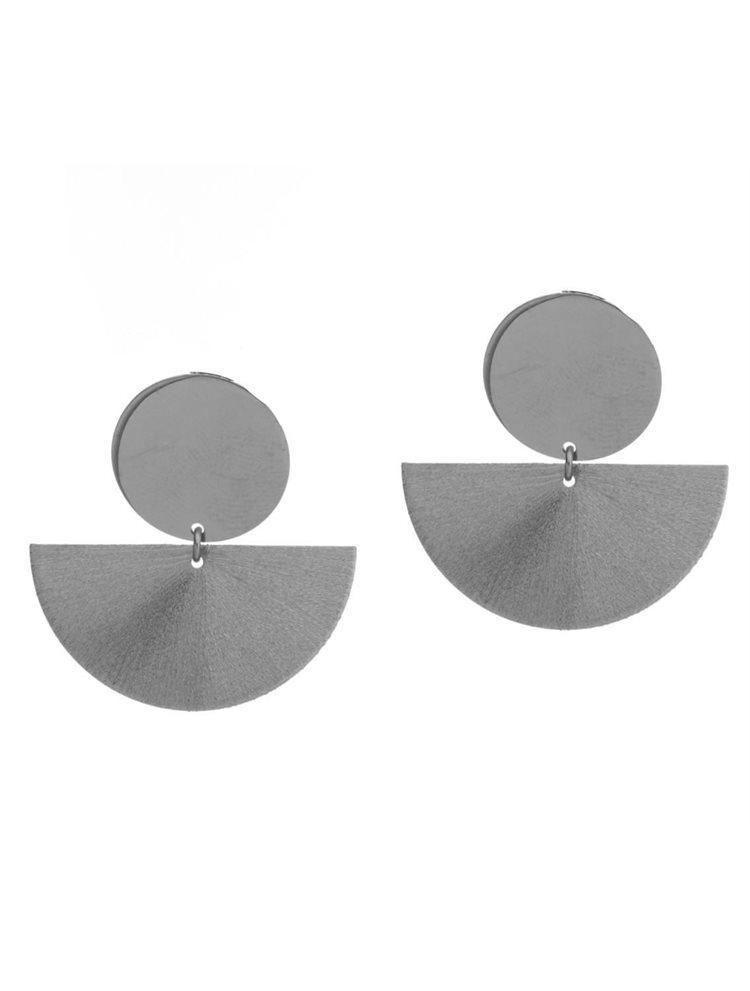 Εντυπωσιακά μοντέρνα σκουλαρίκια από ασήμι