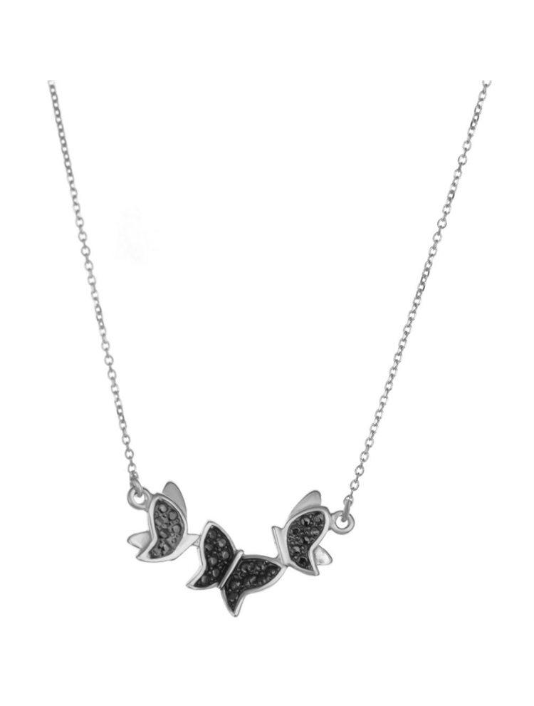 Κολιέ πεταλούδες από . 99f5742b288