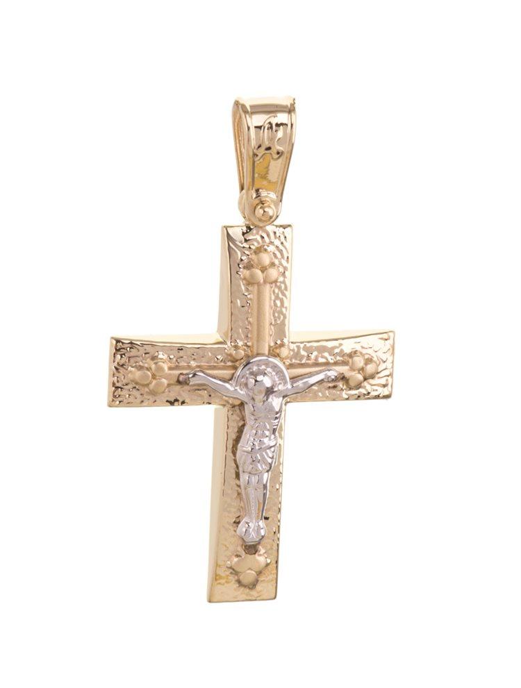 Βαπτιστικός σταυρός χρυσός 14Κ Χρυσός 14 Καράτια | Σταυροί βάπτισης ή αρραβώνα