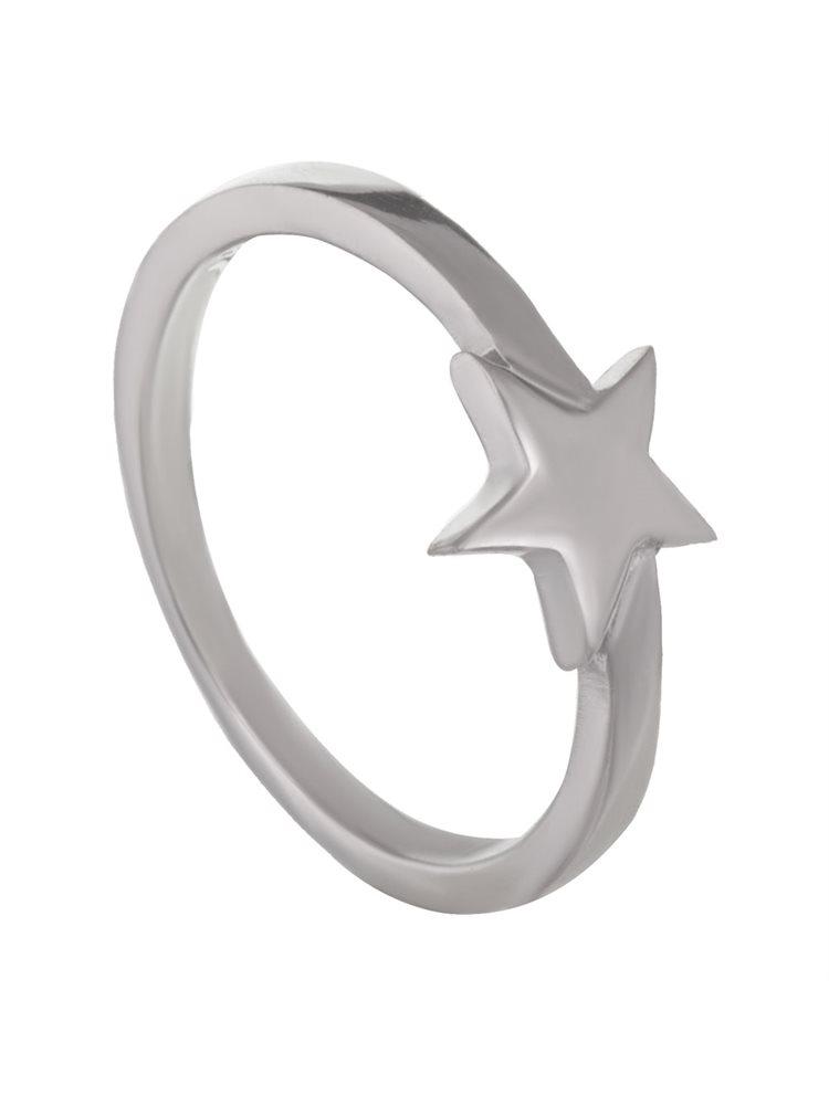 Δαχτυλίδι από ασήμι αστέρι