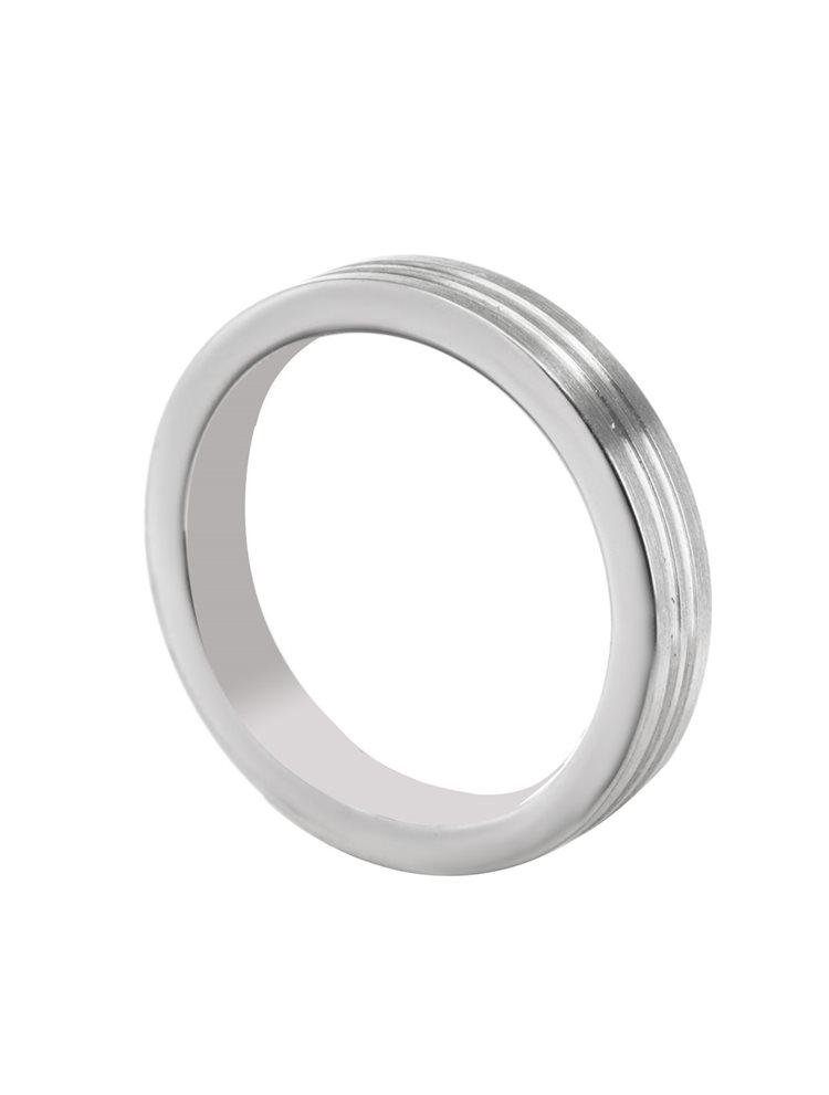 Ανδρικό δαχτυλίδι από ατσάλι