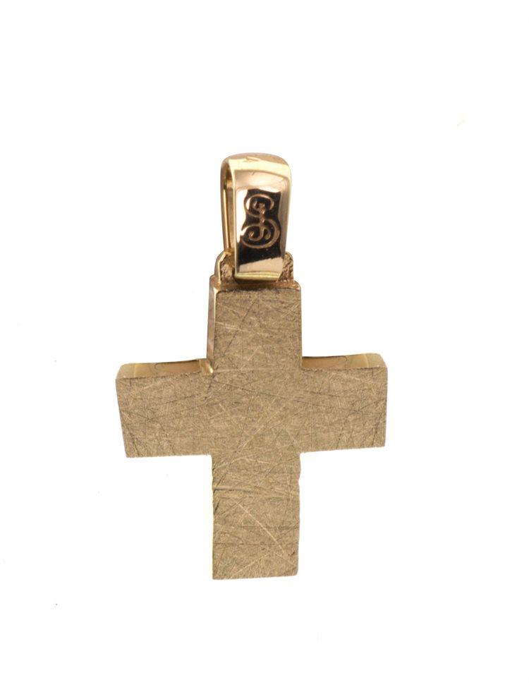 Σταυρός από 14 καράτια Κ14